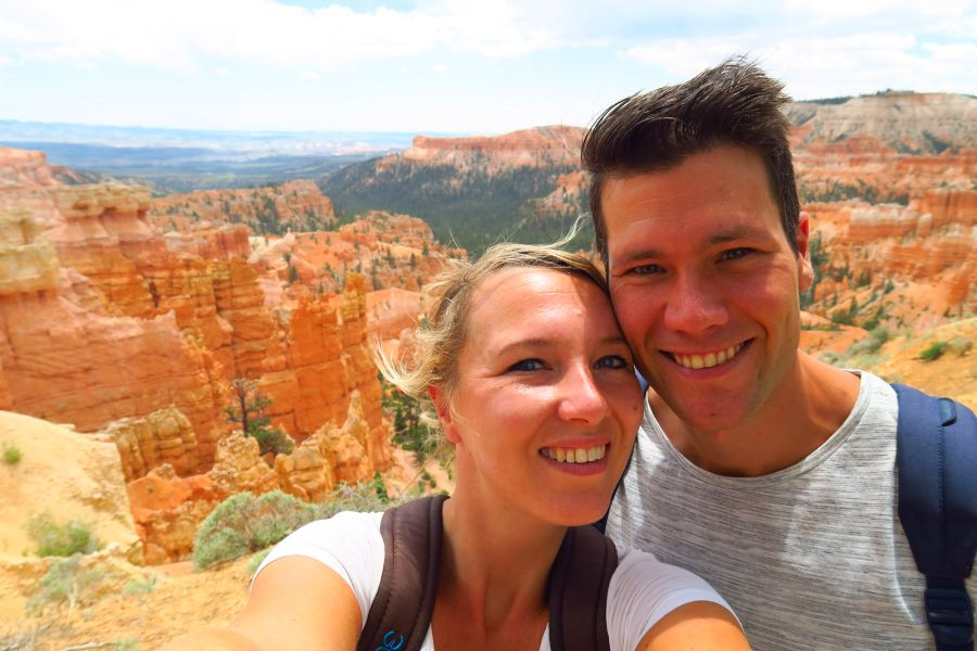 Bryce-Canyon-National-Park-view-selfie