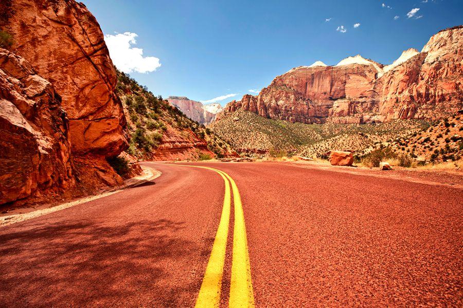 Zion-National-Park-road-2