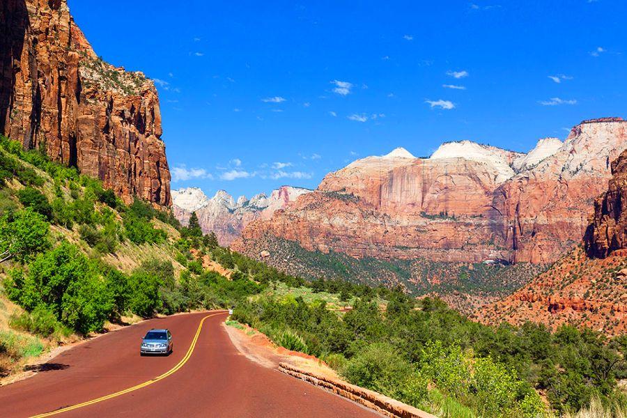 Zion-National-Park-road-3