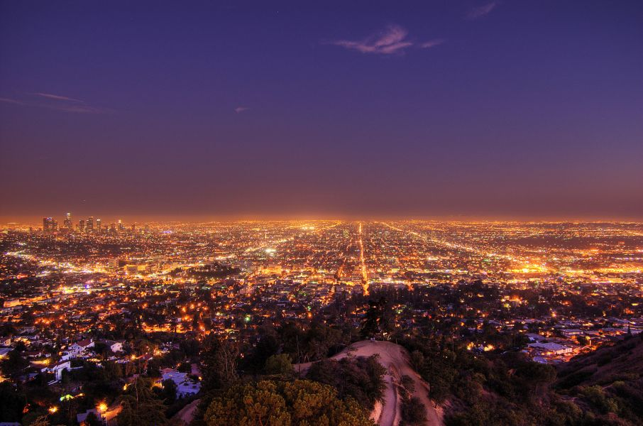 Los-Angeles-by-night