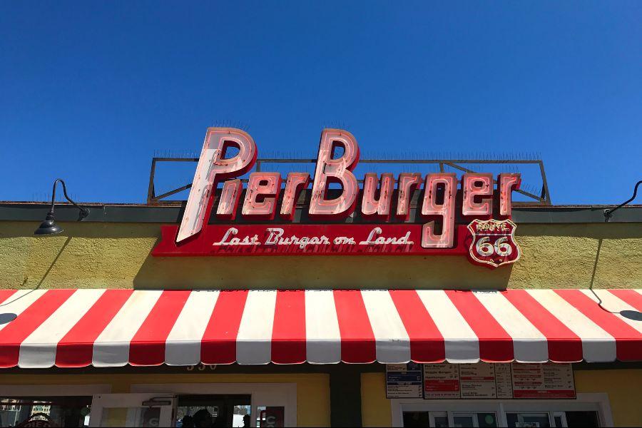 Santa-Monica-Pier-Burger