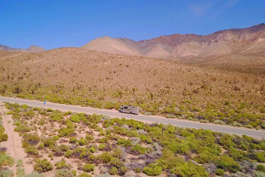 Mojave-desert-camper-drone