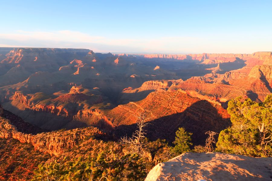 Grand-Canyon-grand-view-point-sunset