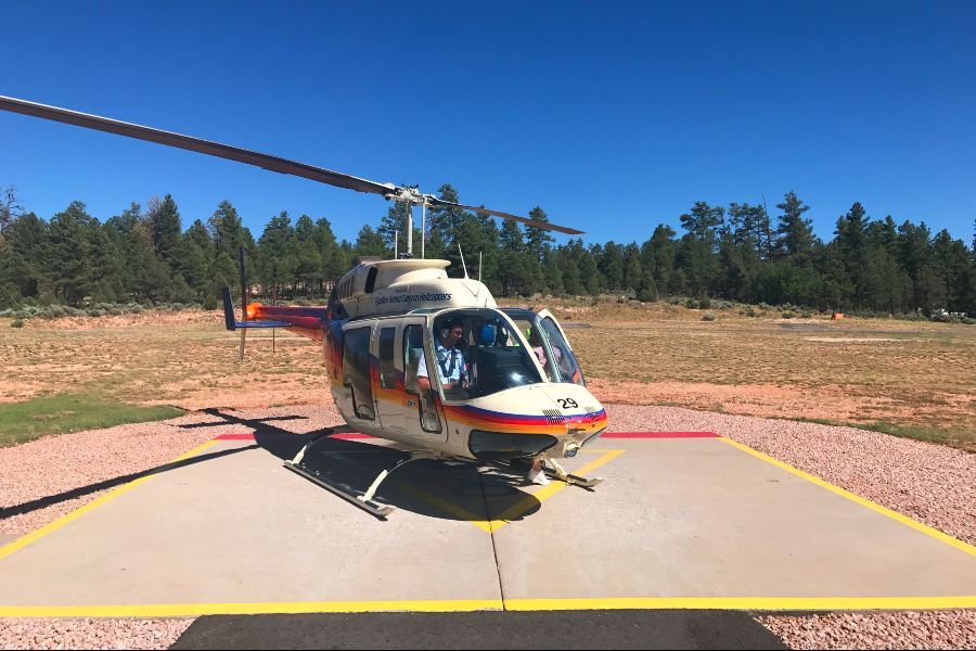 Grand-Canyon-helicopter