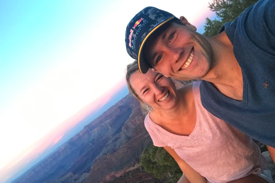Grand-Canyon-grand-view-point-sunset-4