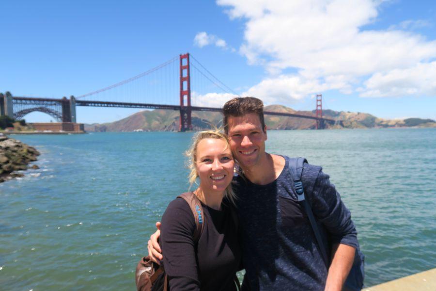 San-Francisco-golden-gate-selfie