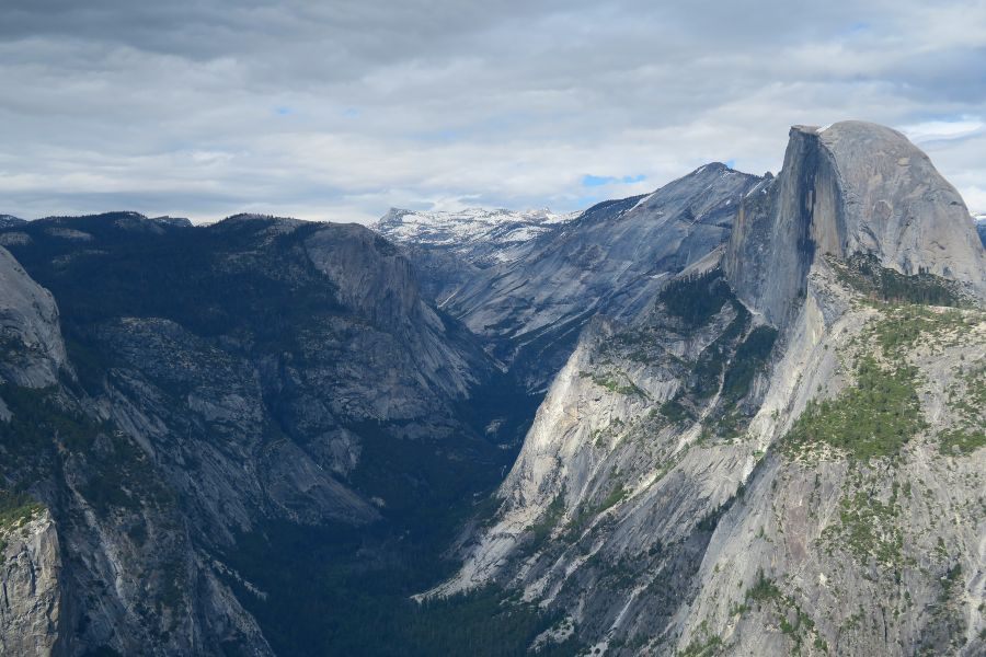 Yosemite-glacier-point-half-dome